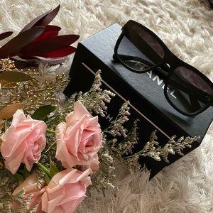 Chanel (ALL Glossy Black) Sunglasses